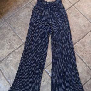 American eagle striped pants